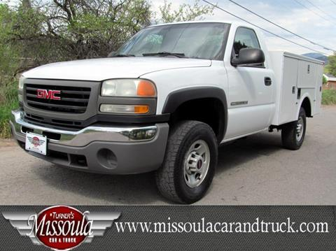 2003 GMC Sierra 2500HD for sale in Missoula, MT
