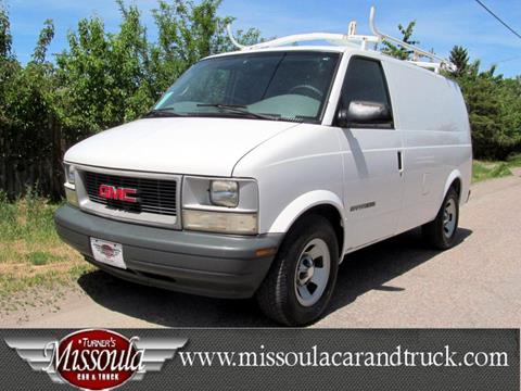2001 GMC Safari Cargo for sale in Missoula, MT