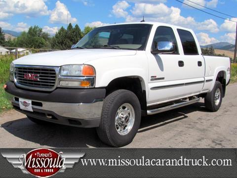 2002 GMC Sierra 2500HD for sale in Missoula, MT