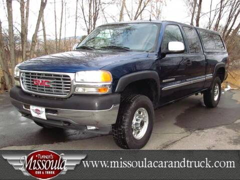 2002 GMC Sierra 2500HD for sale in Missoula, MT