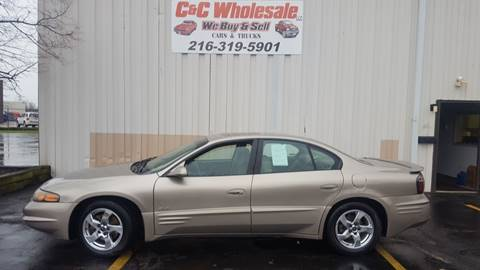 2002 Pontiac Bonneville for sale in Cleveland, OH
