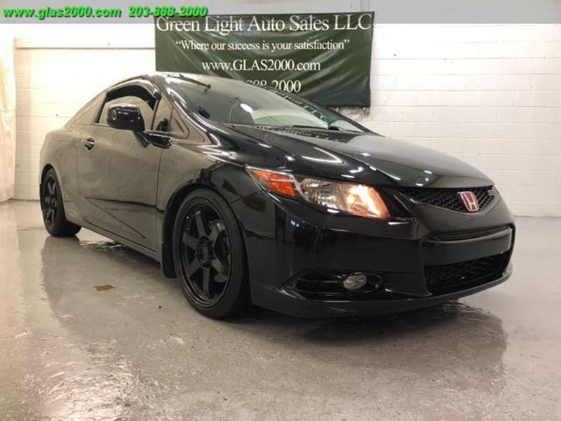 2012 Honda Civic Si 2dr Coupe In Seymour CT - Green Light