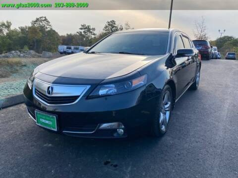 2012 Acura TL for sale at Green Light Auto Sales LLC in Bethany CT