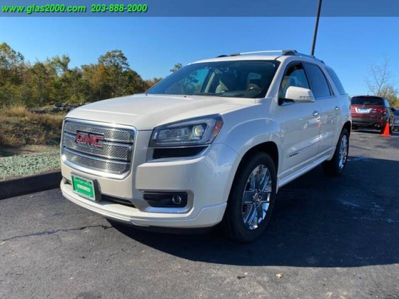 2013 GMC Acadia for sale at Green Light Auto Sales LLC in Bethany CT