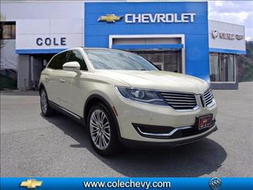 2016 Lincoln MKX for sale in Bluefield, WV