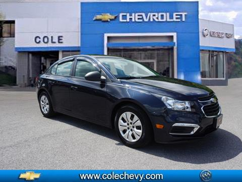 2015 Chevrolet Cruze for sale in Bluefield, WV