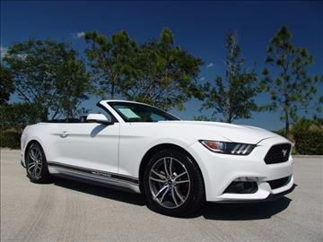 2015 ford mustang ecoboost premium ecoboost premium 2dr convertible - 2015 Ford Mustang White Convertible