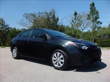 2014 Toyota Corolla for sale in Coconut Creek, FL