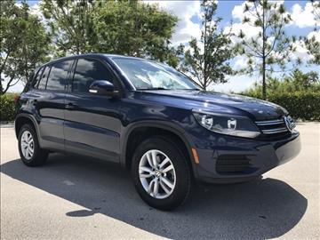 2014 Volkswagen Tiguan for sale in Coconut Creek, FL