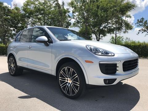 2017 Porsche Cayenne for sale in Coconut Creek, FL