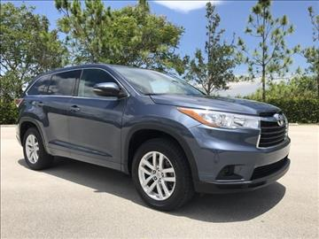 2015 Toyota Highlander for sale in Coconut Creek, FL