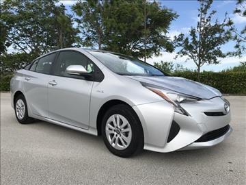 2016 Toyota Prius for sale in Coconut Creek, FL