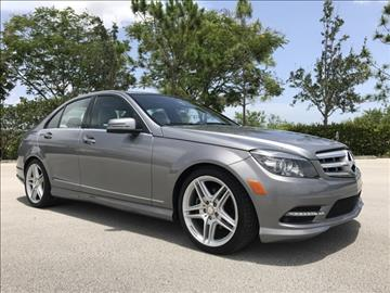2011 Mercedes-Benz C-Class for sale in Coconut Creek, FL
