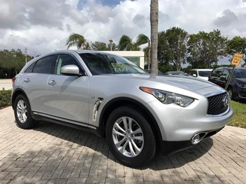 2017 Infiniti QX70 for sale in Coconut Creek, FL