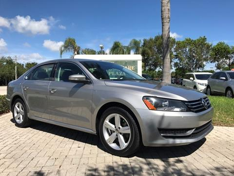 2014 Volkswagen Passat for sale in Coconut Creek, FL