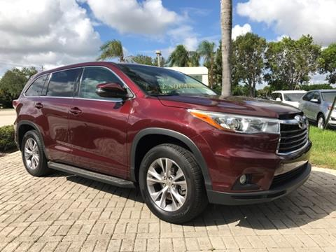 2015 Toyota Highlander for sale in Coconut Creek, FL