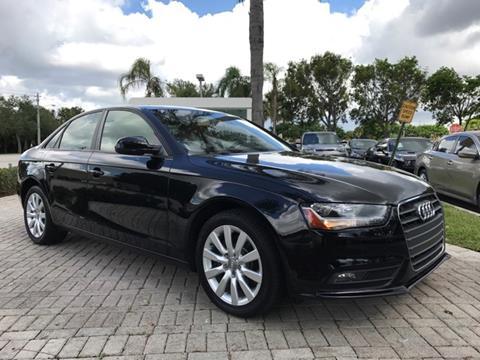 2014 Audi A4 for sale in Coconut Creek, FL