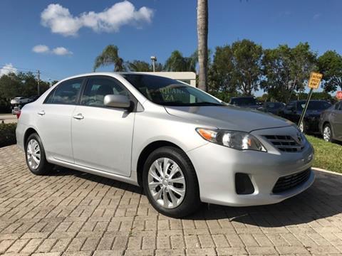 2013 Toyota Corolla for sale in Coconut Creek, FL