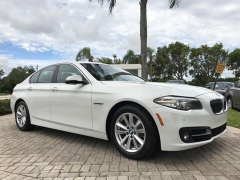 2016 BMW 5 Series for sale in Coconut Creek, FL