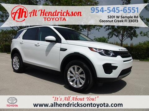 2018 Land Rover Discovery Sport for sale in Coconut Creek, FL