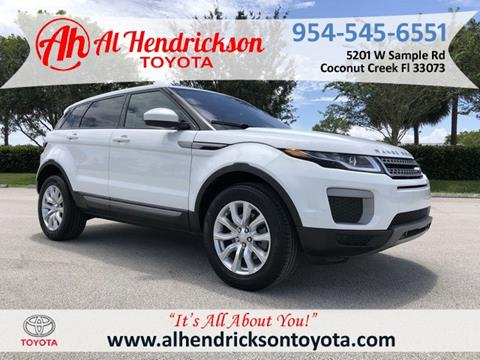 Used Land Rover Range Rover Evoque For Sale In Wyoming Carsforsale