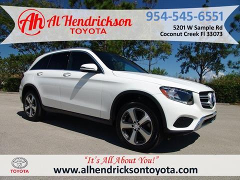 2017 Mercedes Benz GLC For Sale In Coconut Creek, FL