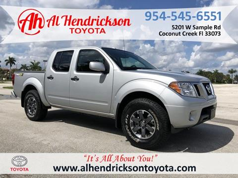 2018 Nissan Frontier for sale in Coconut Creek, FL