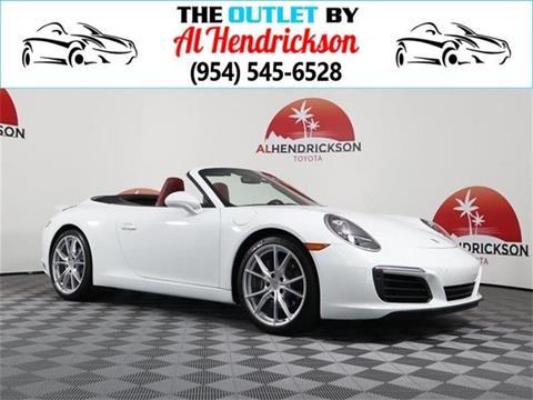2018 Porsche 911 for sale in Coconut Creek, FL