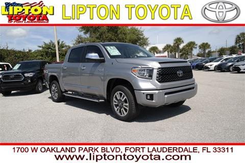 2019 Toyota Tundra for sale in Coconut Creek, FL
