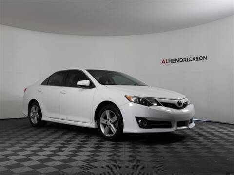 2012 Toyota Camry SE for sale at AL HENDRICKSON TOYOTA in Coconut Creek FL