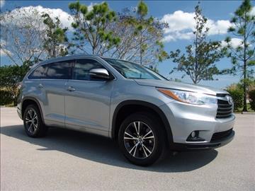 2016 Toyota Highlander for sale in Coconut Creek, FL