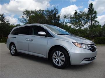 2015 Honda Odyssey for sale in Coconut Creek, FL