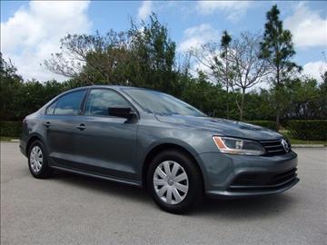 2015 Volkswagen Jetta for sale in Coconut Creek, FL