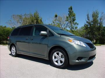 2013 Toyota Sienna for sale in Coconut Creek, FL