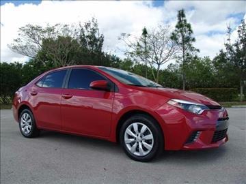 2016 Toyota Corolla for sale in Coconut Creek, FL