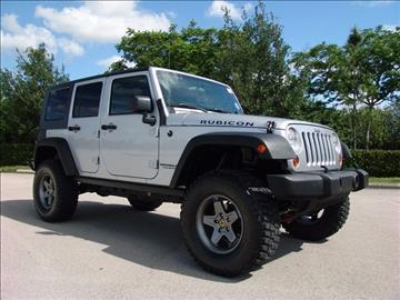 2010 Jeep Wrangler Unlimited for sale in Coconut Creek, FL