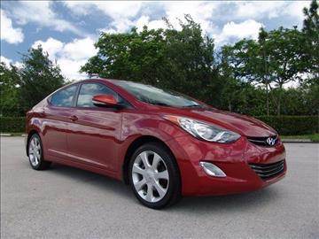2012 Hyundai Elantra for sale in Coconut Creek, FL