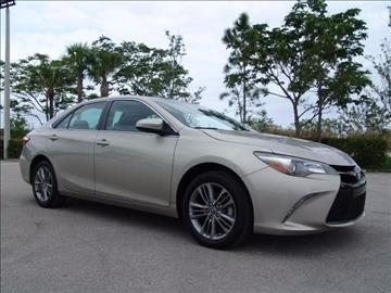 2015 Toyota Camry for sale in Coconut Creek, FL