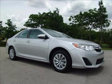 2014 Toyota Camry for sale in Coconut Creek, FL
