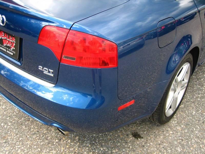 2008 Audi A4 AWD 2.0T quattro 4dr Sedan (2L I4 6A) - Auburn ME
