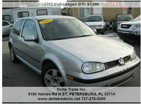 2002 Volkswagen GTI for sale in St. Petersburg, FL
