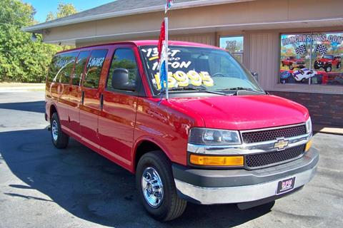 2013 Chevrolet Express Passenger for sale in Mogadore, OH