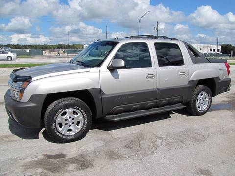 2004 Chevrolet Avalanche for sale at HUGH WILLIAMS AUTO SALES in Lakeland FL