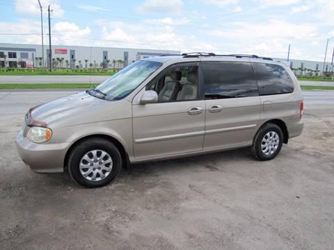 2005 Kia Sedona for sale at HUGH WILLIAMS AUTO SALES in Lakeland FL