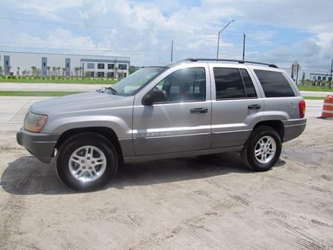 2002 Jeep Grand Cherokee for sale at HUGH WILLIAMS AUTO SALES in Lakeland FL