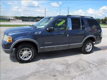 2002 Ford Explorer for sale at HUGH WILLIAMS AUTO SALES in Lakeland FL