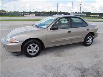 2002 Chevrolet Cavalier for sale at HUGH WILLIAMS AUTO SALES in Lakeland FL