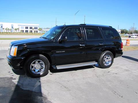 2003 Cadillac Escalade for sale at HUGH WILLIAMS AUTO SALES in Lakeland FL