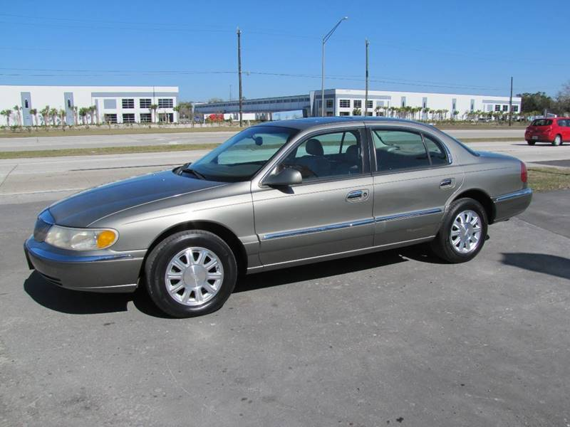 2000 Lincoln Continental for sale at HUGH WILLIAMS AUTO SALES in Lakeland FL