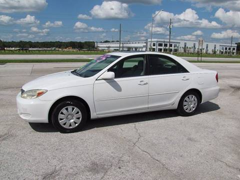 2003 Toyota Camry for sale at HUGH WILLIAMS AUTO SALES in Lakeland FL